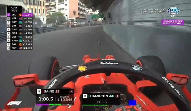 """Đua xe F1, phân hạng Monaco GP: Ferrari """"lột xác"""", Leclerc gặp tai nạn vẫn đoạt pole - 5"""