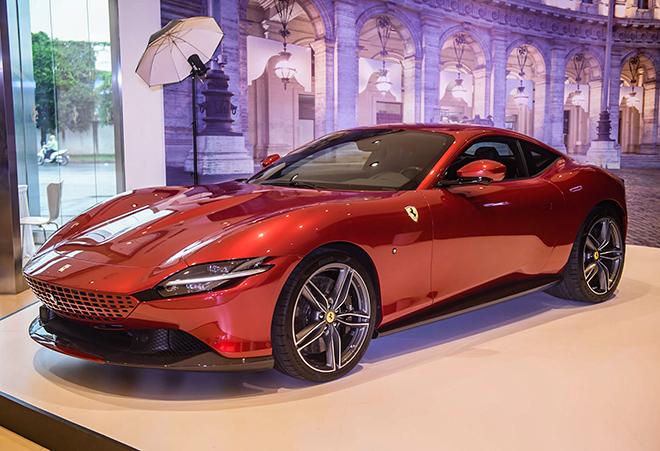 Chi tiết Ferrari Roma chính hãng tại Việt Nam, có giá bán hơn 21 tỷ đồng - 1