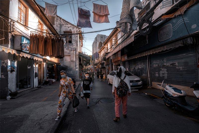 Con phố cổ giữa trung tâm Vũ Hán, khung cảnh bình dị hiếm hoi còn sót lại - hình ảnh 3