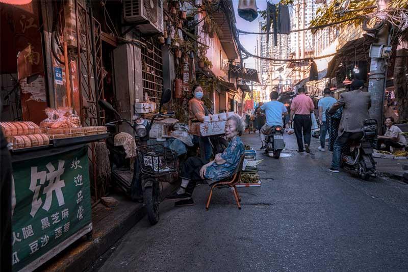 Con phố cổ giữa trung tâm Vũ Hán, khung cảnh bình dị hiếm hoi còn sót lại - hình ảnh 9