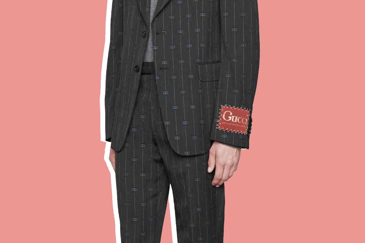 Gucci biến lỗi thời trang kinh điển thành kiểu mốt hot cho nam giới - hình ảnh 1