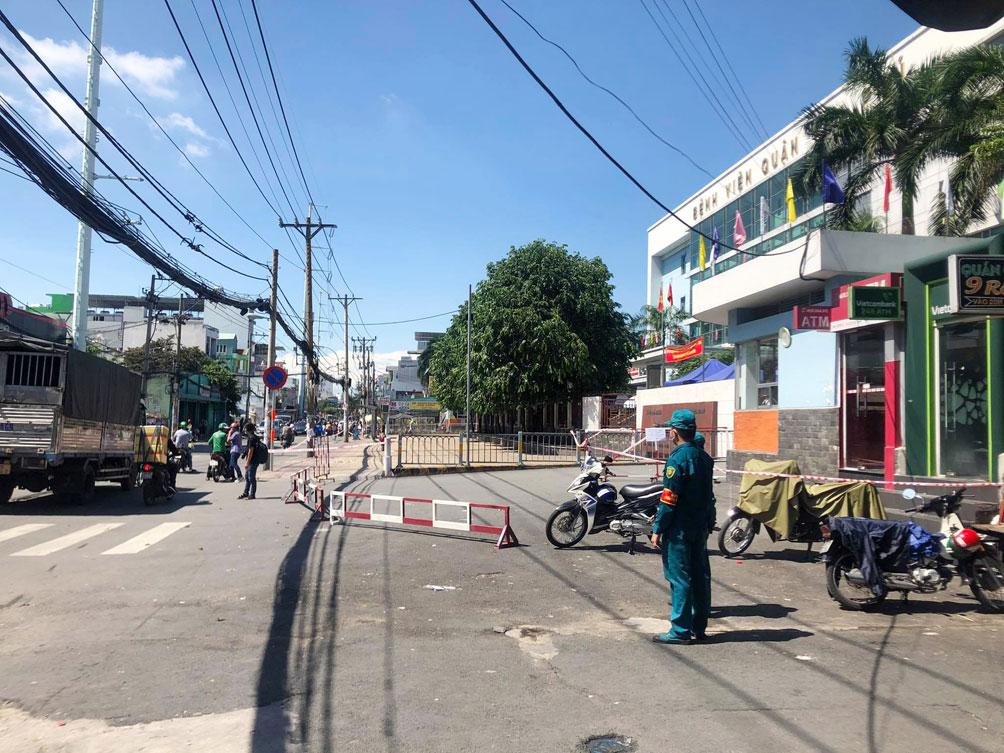 TP.HCM: Phong tỏa bệnh viện quận Tân Phú - hình ảnh 10