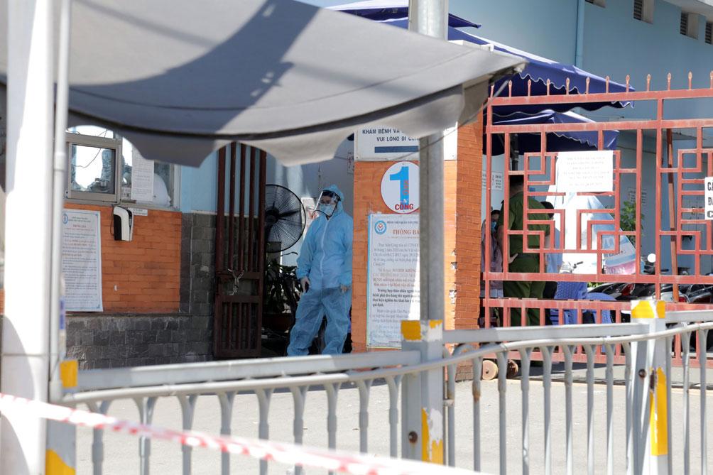 TP.HCM: Phong tỏa bệnh viện quận Tân Phú - hình ảnh 2