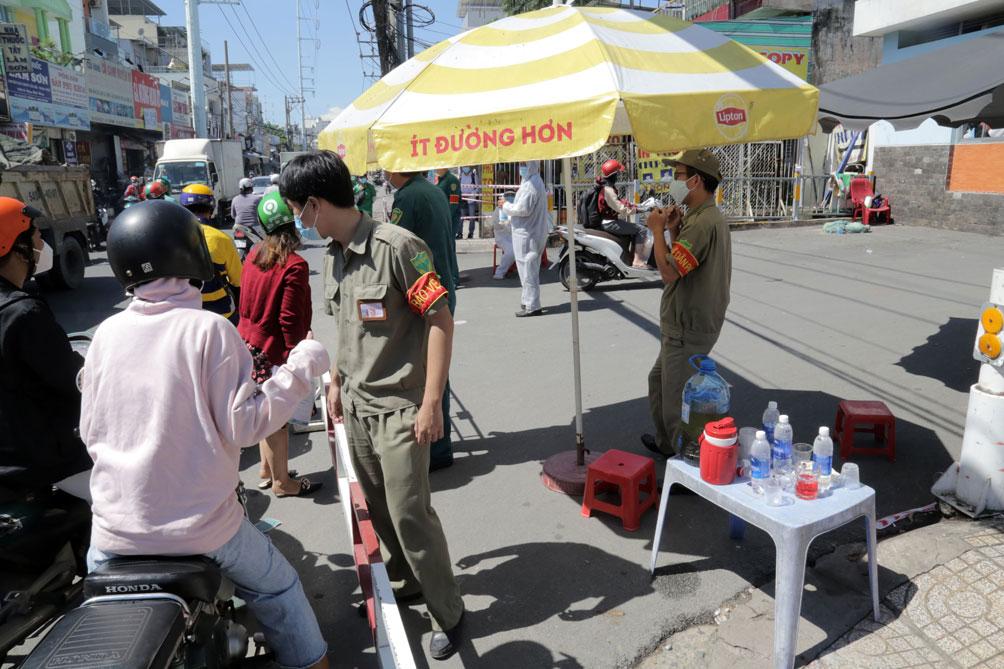 TP.HCM: Phong tỏa bệnh viện quận Tân Phú - hình ảnh 5