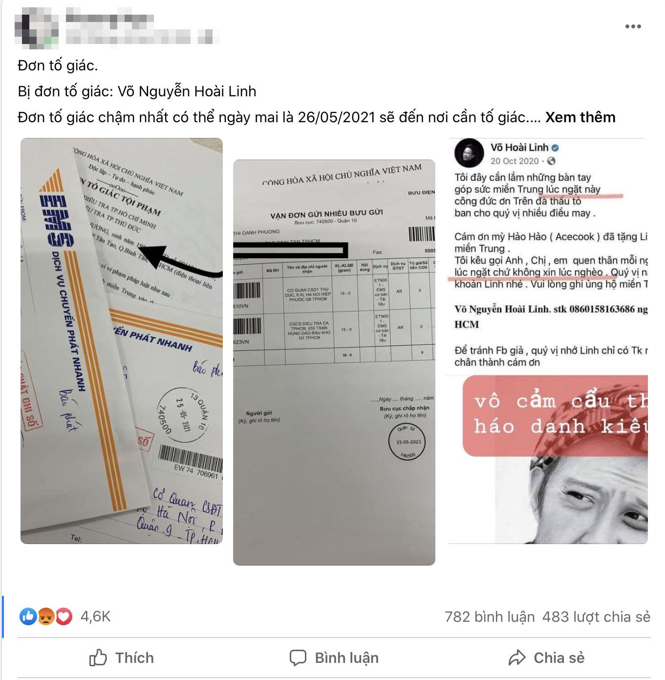 Người phụ nữ gửi đơn tố giác nghệ sĩ Hoài Linh lên công an TP.HCM là ai? - 3