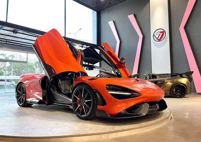 Siêu xe đình đám McLaren 765LT thứ 3 về Việt Nam với tùy chọn đắt đỏ - 3