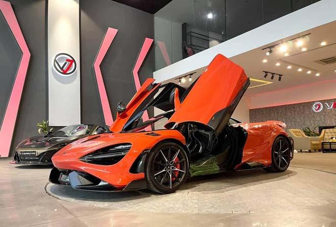 Siêu xe đình đám McLaren 765LT thứ 3 về Việt Nam với tùy chọn đắt đỏ - 1
