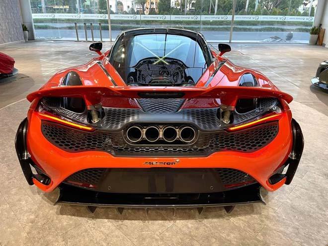Siêu xe đình đám McLaren 765LT thứ 3 về Việt Nam với tùy chọn đắt đỏ - 4