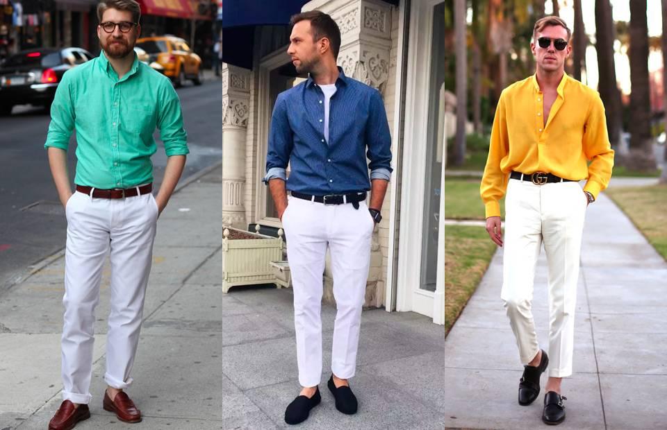 Hạ nhiệt mùa nóng với một chiếc quần trắng - 1