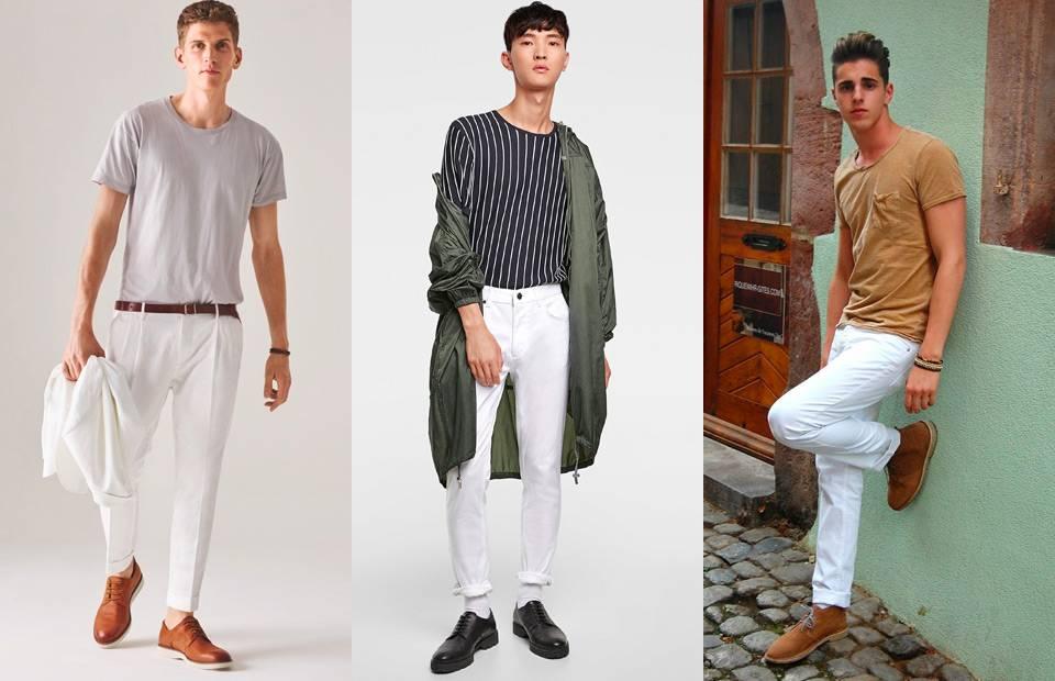 Hạ nhiệt mùa nóng với một chiếc quần trắng - 4