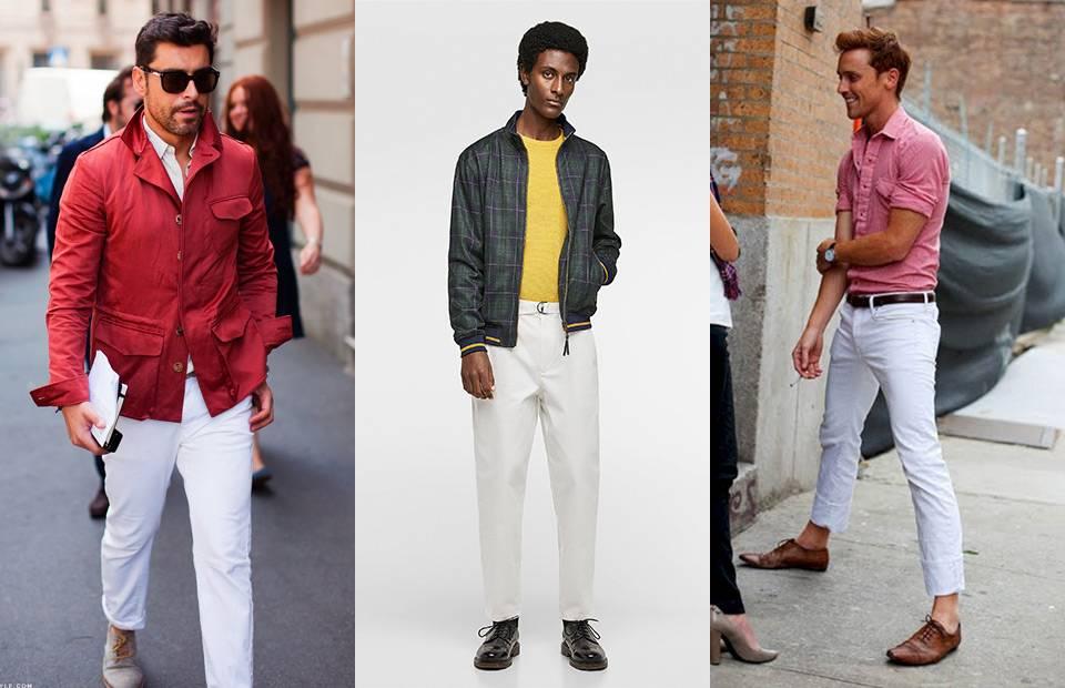 Hạ nhiệt mùa nóng với một chiếc quần trắng - 5