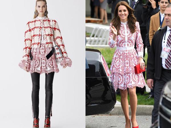 9 lần Kate Middleton diện phiên bản đặc biệt của hàng hiệu - hình ảnh 3