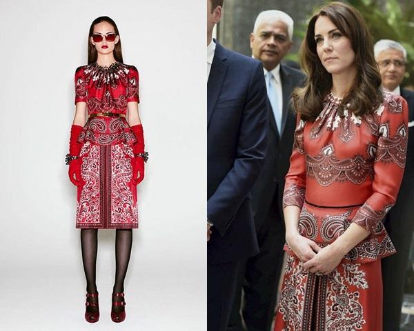 9 lần Kate Middleton diện phiên bản đặc biệt của hàng hiệu - hình ảnh 8