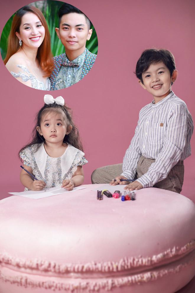 Hai nhóc tỳ nhà Khánh Thi – Phan Hiển như bản sao của bố mẹ - hình ảnh 8