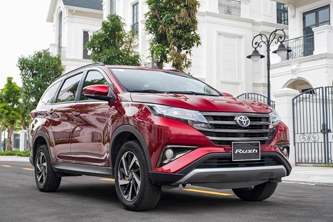Tăng tiện nghi và ưu đãi cho khách hàng mua xe Toyota Rush - 1