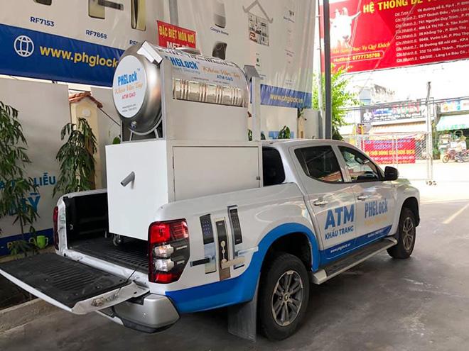 """""""ATM gạo"""" tái xuất, hỗ trợ người dân vùng dịch vượt qua khó khăn - hình ảnh 1"""