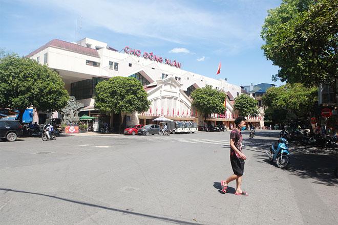 Đường phố Hà Nội vắng người vì trời nóng như đổ lửa - hình ảnh 3