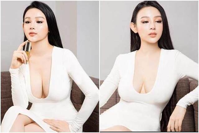 """""""Hot girl Việt ở lâu đài trăm tỷ"""" chuộng áo khoe cơ thể quá đà dù bị chê vòng 1 chảy - hình ảnh 4"""