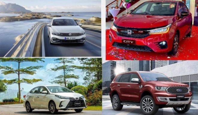 Chi tiết mức ưu đãi, giảm giá các mẫu ô tô hiện nay - 1