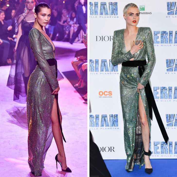 """8 pha """"đụng"""" trang phục của sao Hollywood: Ai hơn ai? - hình ảnh 2"""