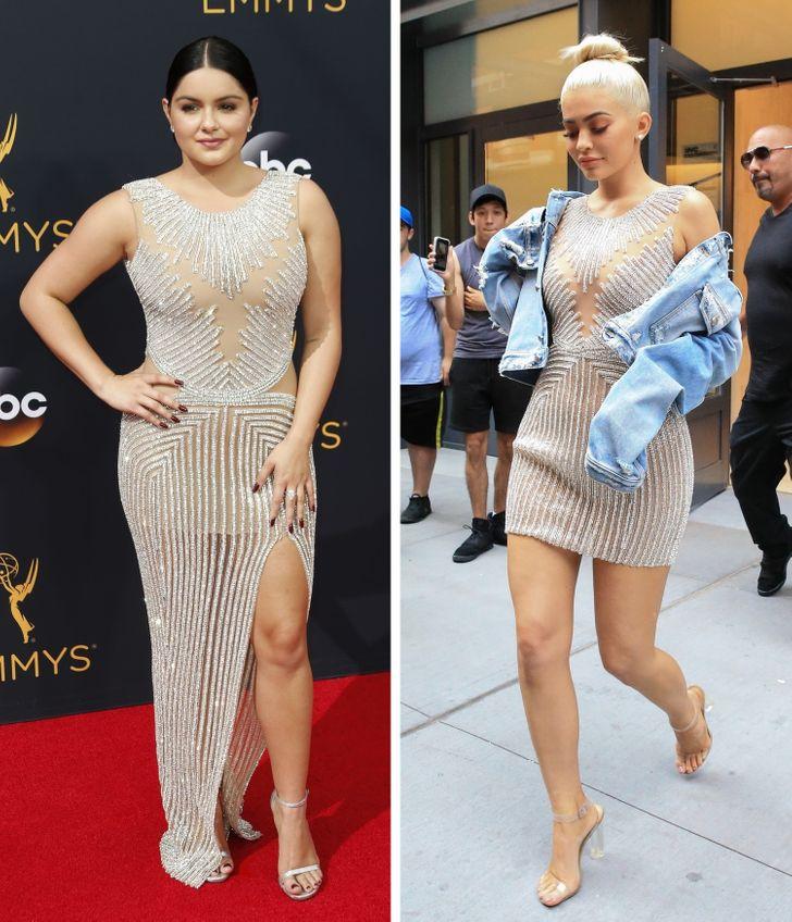 """8 pha """"đụng"""" trang phục của sao Hollywood: Ai hơn ai? - hình ảnh 5"""