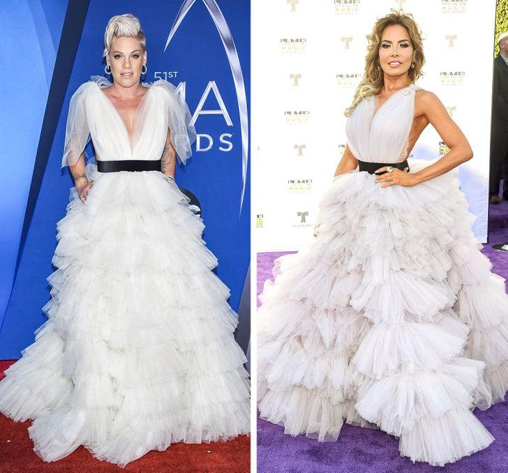 """8 pha """"đụng"""" trang phục của sao Hollywood: Ai hơn ai? - hình ảnh 6"""