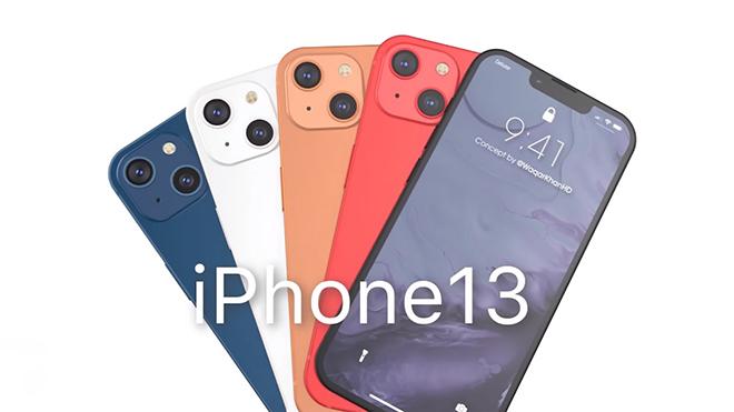 Hình dung 4 màu iPhone 13 sắc nét tới từng chi tiết - 1