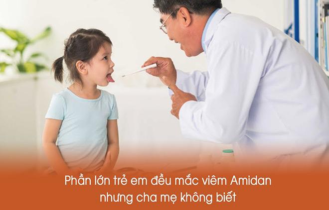 Viêm amidan ở trẻ em – bệnh thường gặp ở trẻ nhưng bố mẹ ít chú ý đến - 1