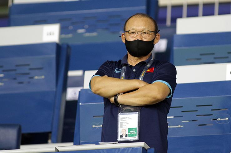 """HLV Park Hang Seo """"đứng ngồi không yên"""" xem Indonesia đấu Thái Lan - 7"""