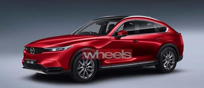 Mazda CX-50 sắp trình làng, cạnh tranh BMW X4 và Mercedes-Benz GLC - 1