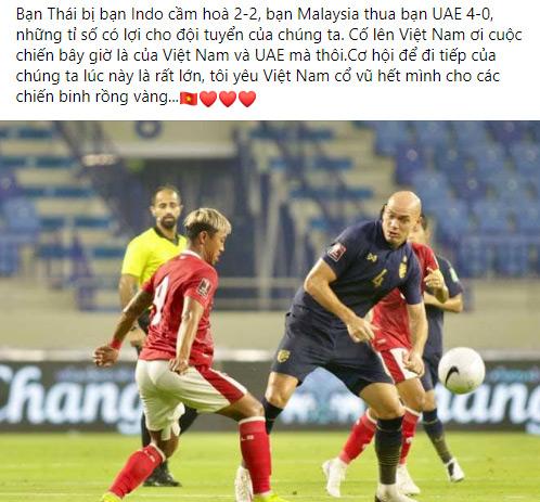 """Sau trận """"bê bết"""" của đội tuyển Thái, DV hài Chiến Thắng nói ngay câu này - hình ảnh 2"""
