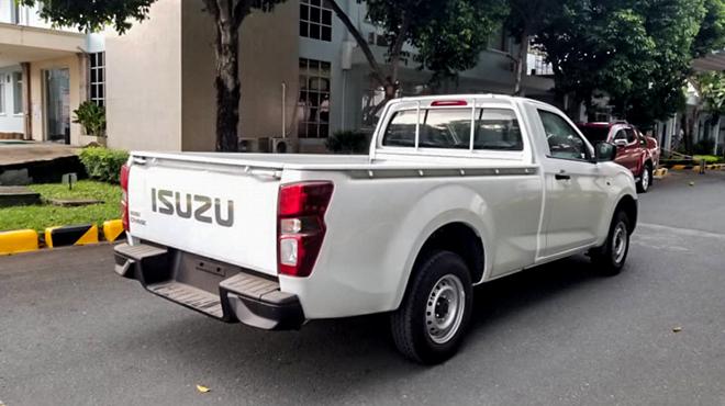 Isuzu D-Max bản cabin đơn có mặt tại Việt Nam, giá gần 400 triệu đồng - 5