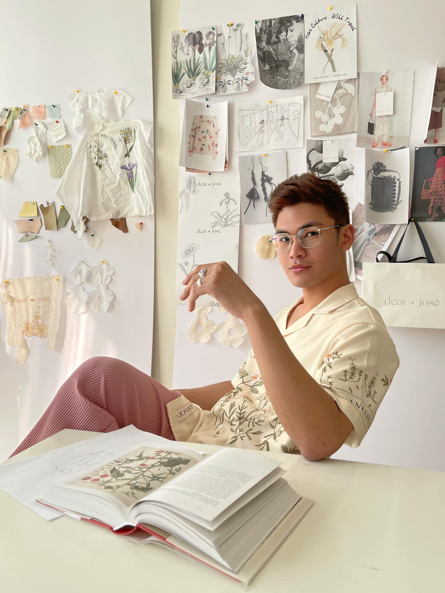 Trang phục của NTK Việt bất ngờ xuất hiện trên Vogue Anh - hình ảnh 5