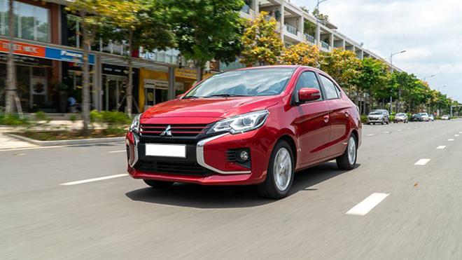 Giá xe Mitsubishi Attrage lăn bánh tháng 6/2021 - 4