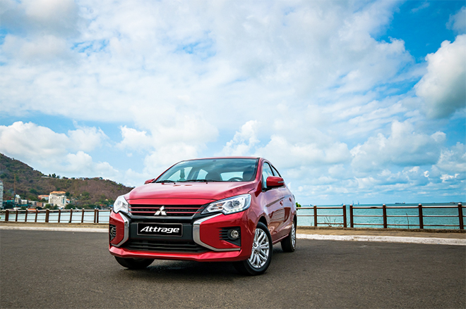 Giá xe Mitsubishi Attrage lăn bánh tháng 6/2021 - 1