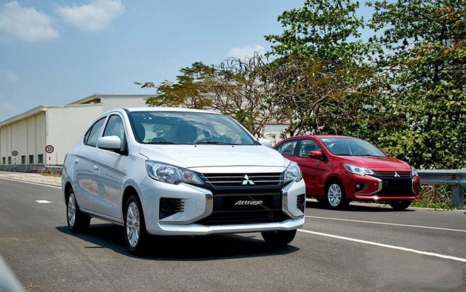 Giá xe Mitsubishi Attrage lăn bánh tháng 6/2021 - 3