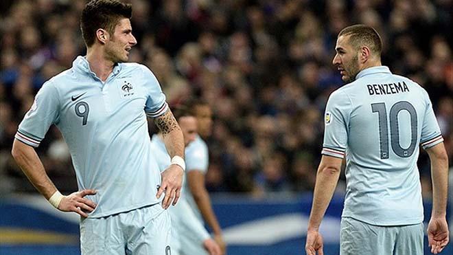 """Benzema - Giroud liên tục """"cà khịa"""", nội bộ ĐT Pháp rối ren trước EURO 2021 - 1"""