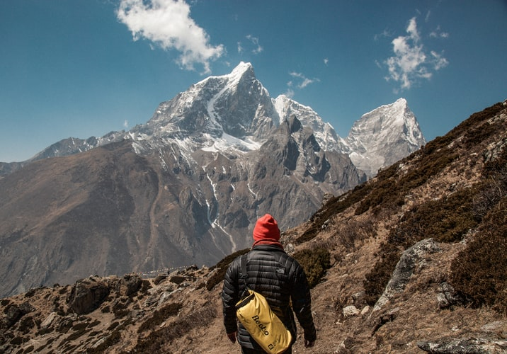 Cụ ông 75 tuổi chinh phục thành công đỉnh núi cao nhất thế giới - hình ảnh 1