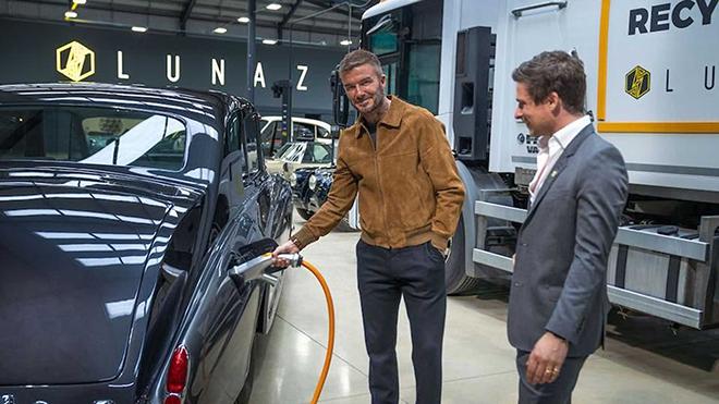 David Beckham rót tiền vào hãng xe điện hóa đặc biệt - 1