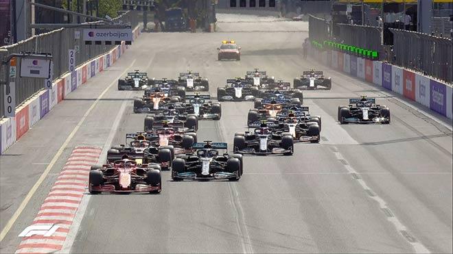 Đua xe F1, Azerbaijan GP: Mercedes bại trận trước Red Bull - 3