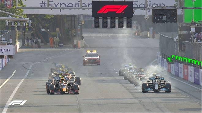 Đua xe F1, Azerbaijan GP: Mercedes bại trận trước Red Bull - 8