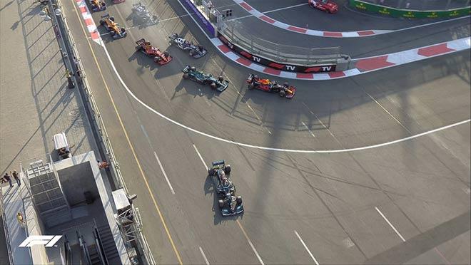Đua xe F1, Azerbaijan GP: Mercedes bại trận trước Red Bull - 9