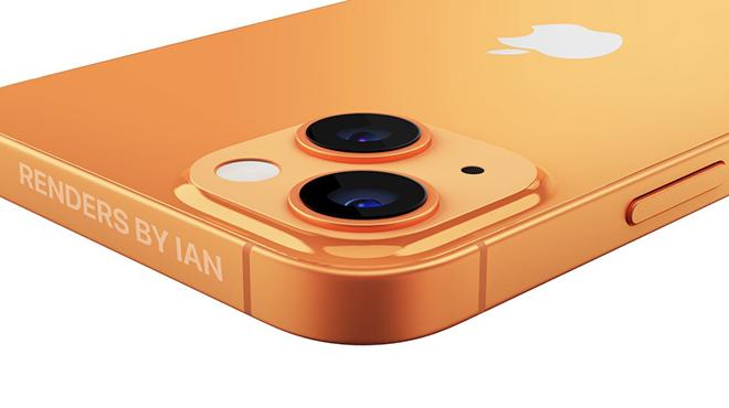iPhone 13 màu da cam bất ngờ xuất hiện khiến iFan sửng sốt - 4