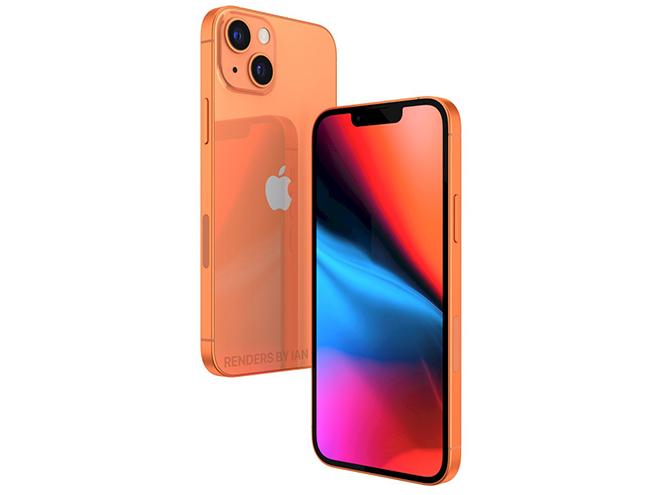 iPhone 13 màu da cam bất ngờ xuất hiện khiến iFan sửng sốt - 1