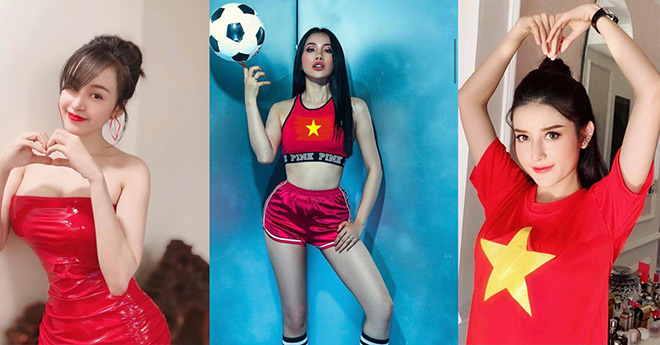 Hoa hậu Khánh Vân cùng dàn người đẹp phấn khích khi ĐT Việt Nam thắng lớn - 1