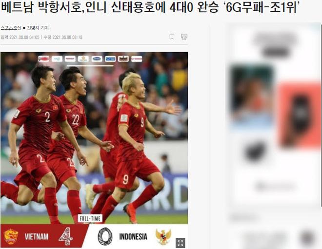 Báo Hàn Quốc phấn khích vì