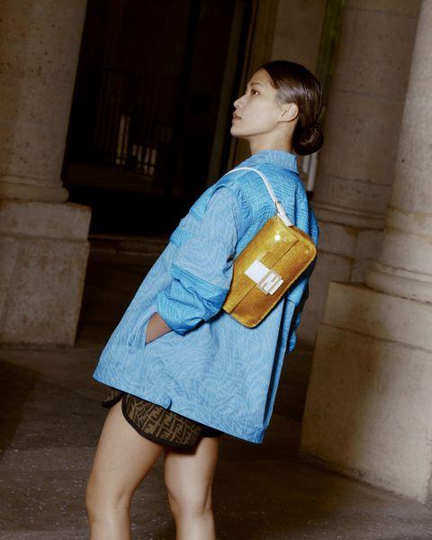 Fendi tái tạo lại chiếc túi Baguettes huyền thoại cho mùa hè 2021 - hình ảnh 4