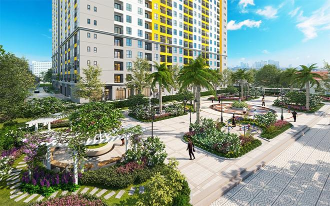 """Giá từ 1,5 tỷ đồng, căn hộ Bcons Plaza là """"hàng hiếm"""" - 3"""