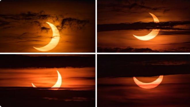 """Chiêm ngưỡng nhật thực """"vòng lửa Bắc Cực"""" xuất hiện khắp thế giới - 6"""