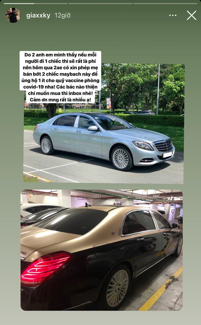 """""""Rich kid"""" 2K3 đình đám Gia Kỳ rao bán 2 siêu xe ủng hộ quỹ vắc-xin - 3"""